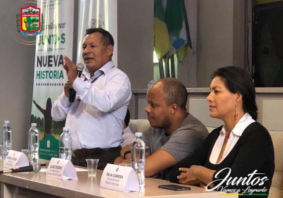 Boletín N° 004-2019. Secretario Tecnico de la Juventud y Prefecto de Morona Santiago, buscan desarrollar a la provincia.