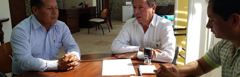 Boletín N° 0007-2019. PREFECTOS DE MORONA SANTIAGO Y PASTAZA FIRMAN ACTA DE SOLICITUD AL MINISTERIO DE LA AMAZONIA