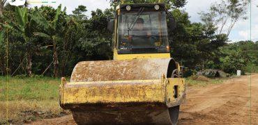 Fiscalización del convenio para la Rehabilitación vial en Huamboya