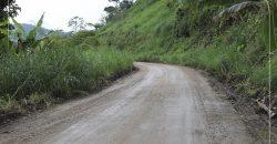 Minga vial, tramo Recinto Ferial – Wakani / cantón Sucúa