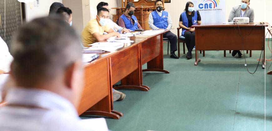 Prefectura mantiene diálogo con CNE