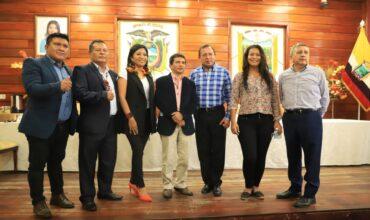 Prefectos Amazónicos, mantienen Reunión de trabajo (TENA)