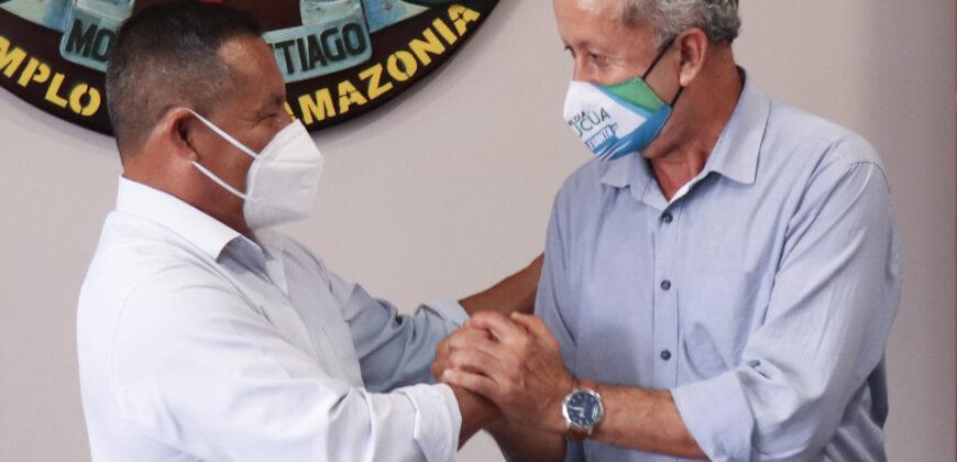 FIRMA DE CONVENIO DE COOPERACIÓN PREFECTURA MS Y GAD SUCÚA