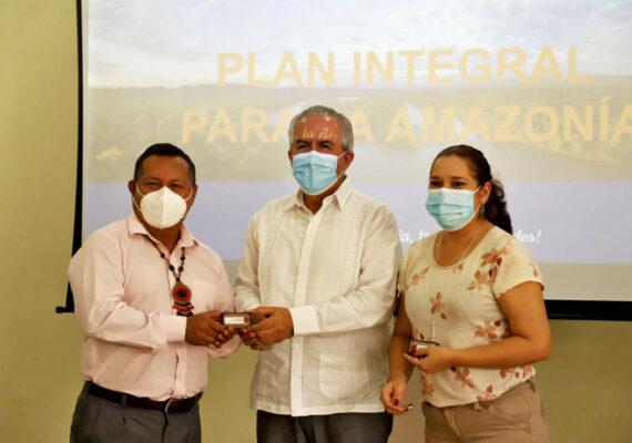 BOLETÍN N° 00017-2021. PREFECTO ANTUNI PARTICIPA DE LA PRESENTACIÓN DEL PLAN INTEGRAL PARA LA AMAZONÍA