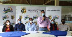 PRODUCTORES DE HUAMBOYA SON BENEFICIARIOS DE INSUMOS AGRÍCOLAS