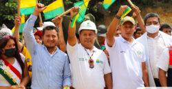 TRES IMPORTANTES OBRAS FUERON ENTREGADAS EN EL CANTÓN SANTIAGO