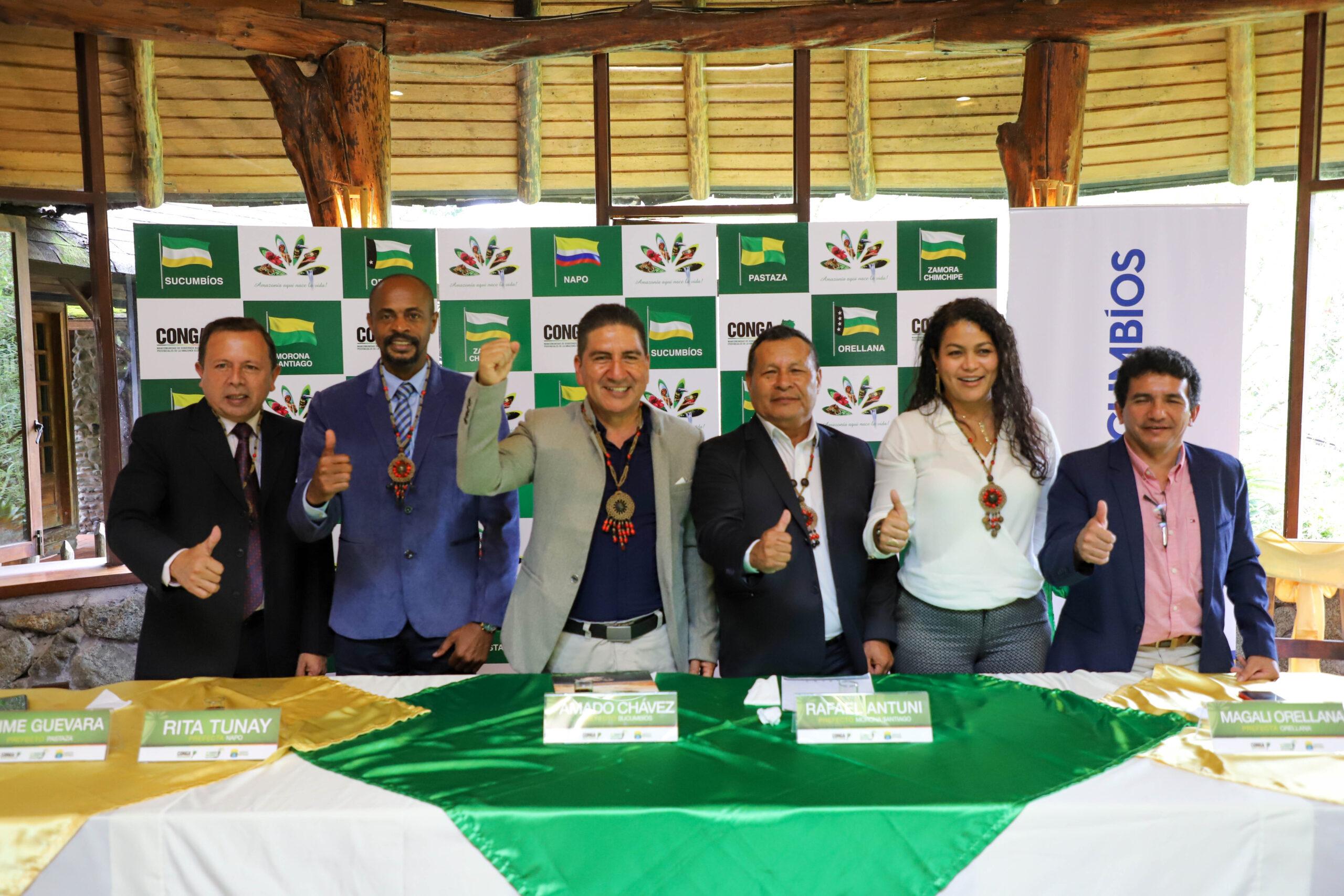BOLETÍN N° 00032-2021. MANCOMUNIDAD DE GOBIERNOS AUTÓNOMOS PROVINCIALES DE LA AMAZONÍA POSESIONA NUEVA DIRECTIVA