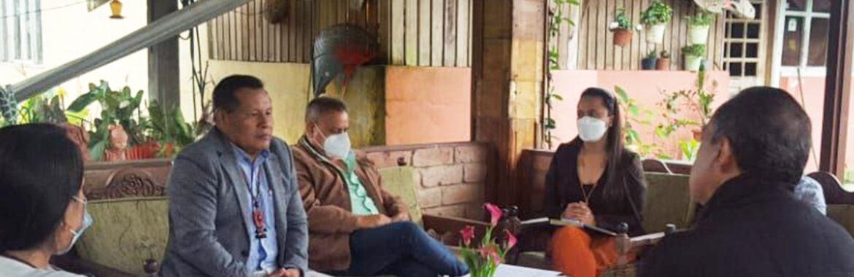 BOLETÍN N° 00029-2021. PREFECTO ANTUNI MANTIENE REUNIÓN DE TRABAJO CON MINISTRO DE LA AMAZONÍA.